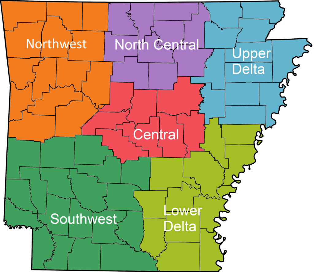 Arkansas_Regions_Colored_With_Names